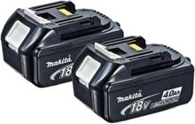 Makita batterier 2 x 18 V / 4,0 Ah