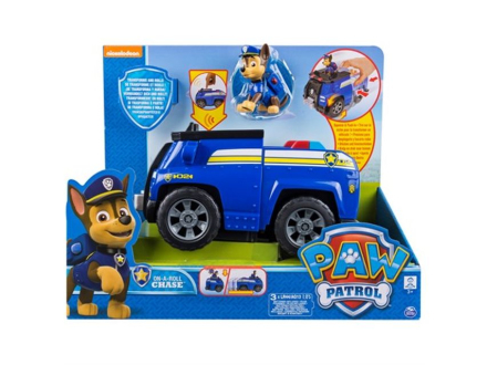 Paw Patrol feature vehicle - Chase's deluxe patruljebil