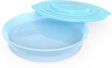 Twistshake Plate 6+m Pastell Blå