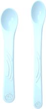 Twistshake 2x Feeding Spoon Set 4+m Pastell Blå