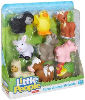 FisherPrice Little People Farm animal friends