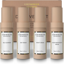 Lernberger stafsing Skin Care Discovery kit. Ansiktsvård. 4 x 10 ml
