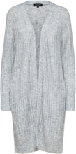 SELECTED Long - Cardigan Women Grey