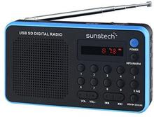 Transistorradio Sunstech RPDS32BL Blå
