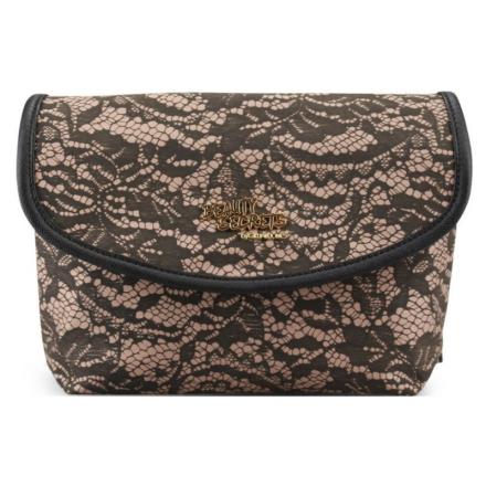 Gillian Jones Beauty Secrets Beige Lace Purse 9-7138-86 U