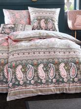 2-teilige Bettwäsche-Garnitur Anacapri aus Satin Bassetti rosé