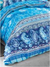 2-teilige Bettwäsche-Garnitur Anacapri aus Satin Bassetti blau