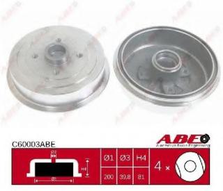 Bremsetrømmel ABE C60003ABE