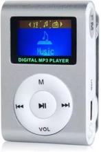 eStore Kompakt mp3-spiller med mikrofon, Sølv