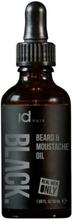 Id Hair Black Beard & Moustache Oil Men 50 ml