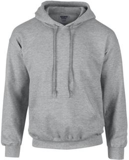Gildan Tungvikt DryBlend Vuxen Unisex Hooded Sweatshirt Topp / Hoodie (13 färger)