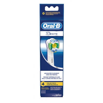 Oral-B 3D White Advanced Cleaning & Whitening 4 kpl