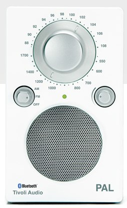 Tivoli Audio PAL BT Bluetooth Glossy White