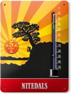 Nitedals Design - Nitedals Termometer, Original
