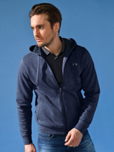 Exklusiv hoodie från Lacoste blå