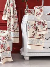 Handtuch aus Chenille ca. 50x100 cm Feiler beige