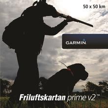 Garmin Friluftskartan Prime V2 Voucher, 50x50 km