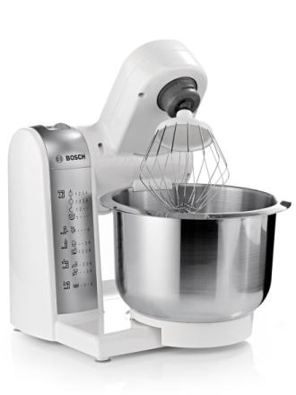 Kjøkkenmaskin Bosch hvit