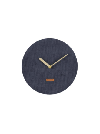 Corduroy Wall Clock