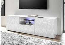 Fasett TV-taso 181 cm Valkoinen