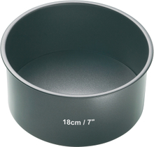 Kitchen Craft Rund Bakform löstagbar Botten Non-stick D: 18 cm H: 7 cm