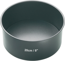 Kitchen Craft Rund Bakform löstagbar Botten Non-stick D: 20 cm H: 8 cm