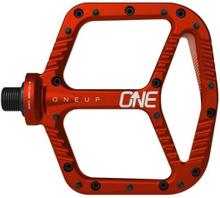 OneUp Aluminum Pedaler Rød, 365 gram