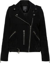 SELECTED Exclusive - Leather Jacket Women Black