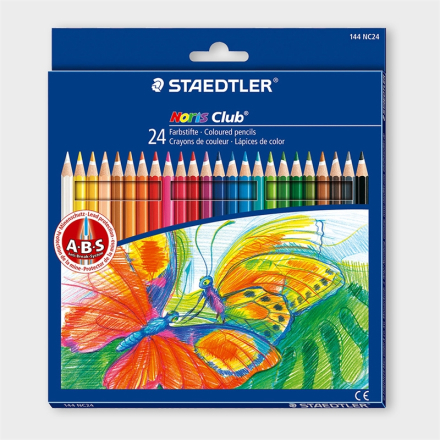 Noris Club Color Pen 24 set - Ballograf