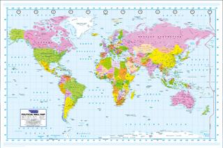 Poster - Världskarta
