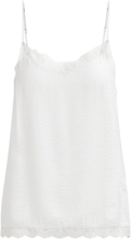 VILA Lace Singlet Women White