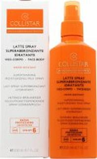 Collistar Perfect Tanning Moisturizing Milk SPF6 200ml Spray