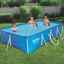 Bestway Steel Pro pool rektangulær 400 x 211 x 81 cm 56424
