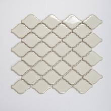 Nordic Kakel Mosaik Lantern 28,3X25,1-Vit