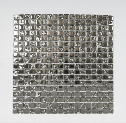 Nordic Kakel Kristallmosaik Metall 30X30-Silver