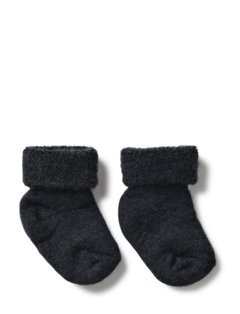 Anklesock Terry Wool Baby - Boozt