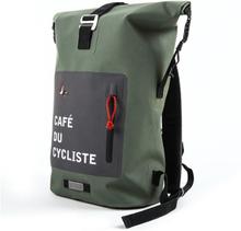 Café Du Cycliste Ryggsekk 24 L, Vanntett og rullbar topp