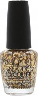 OPI Spotlight on Glitter Nagellack 15ml Reached My Gold!