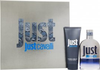 Roberto Cavalli Just Cavalli Him Gavesæt 50ml EDT + 75ml Shower Gel