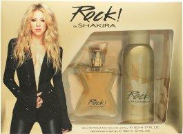 Shakira Rock! by Shakira Gift Set 50ml EDT + 150ml Deodorant Spray