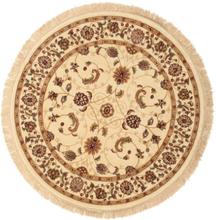 Sarina - Beige matta Ø 150 Orientalisk, Rund Matta