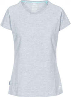 Trespass benita casual t-shirt dame grey marl