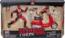 Hasbro Deadpool figur med tillbehör, Marvel 80 år