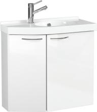 Temal Tvättställsskåp Mondo Högblank-62,5-Höger-35