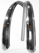 Velo Orange Zeppelin 700 52mm Skjermsett Sølv, Aluminium, 700c x52mm