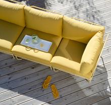 Ygg & Lyng Bris 3-seters utendørs modulsofa Summer Yellow