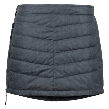Skhoop Mini Down Skirt Dam Kjol Grå M