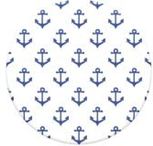 POPSOCKETS Anchors Away White Avtagbart Grip med Ställfunktion