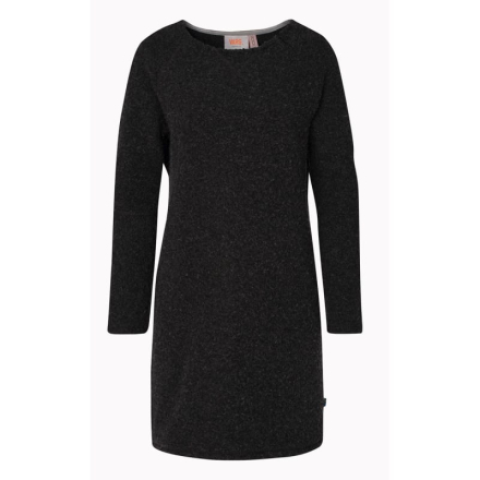 Varg Long Fårö Wool Dress Women Dam Klänning Grå S