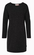 Varg Long Fårö Wool Dress Women Dam Klänning Grå XS